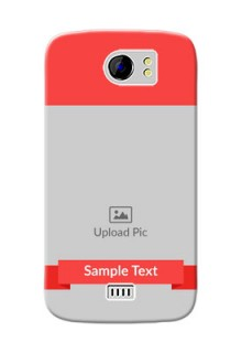 Micromax Canvas 2 Plus Simple Mobile Case Design