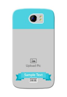 Micromax Canvas 2 Plus Simple Mobile Back Cover Design