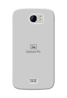 Micromax Canvas 2 Plus Full Picture Upload Mobile Back Cover Design
