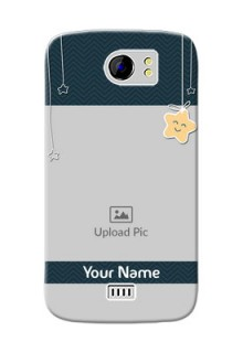 Micromax Canvas 2 Plus 3 image holder with hanging stars Design