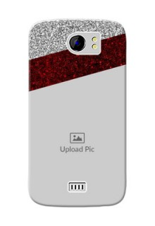 Micromax Canvas 2 Plus 2 image holder with glitter strip Design