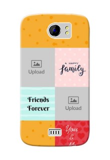 Micromax Canvas 2 Plus 4 image holder with multiple quotations Design