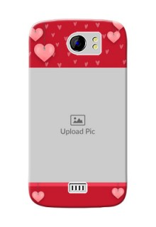 Micromax Canvas 2 Plus valentines day couple Design