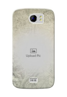 Micromax Canvas 2 Plus vintage backdrop Design
