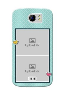 Micromax Canvas 2 2 image holder with pattern Design
