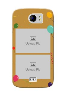 Micromax Canvas 2 2 image holder with birthday celebrations Design
