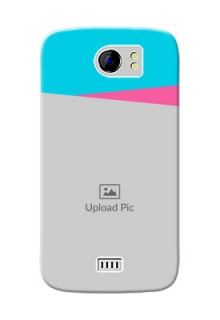 Micromax Canvas 2 2 image holder with 2 colour Design