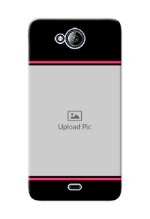 Micromax Canvas Play Q355 Photo With Text Mobile Case Design