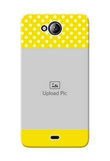 Micromax Canvas Play Q355 Bright Yellow Mobile Case Design