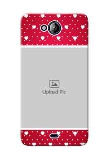 Micromax Canvas Play Q355 Beautiful Hearts Mobile Case Design