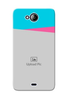 Micromax Canvas Play Q355 2 image holder with 2 colour Design
