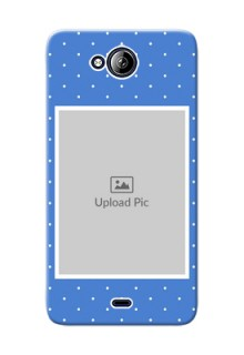 Micromax Canvas Play Q355 2 image holder polka dots Design