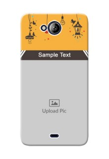 Micromax Canvas Play Q355 my family design with hanging icons Design Design
