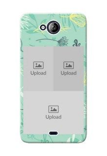 Micromax Canvas Play Q355 family is forever design with floral pattern Design