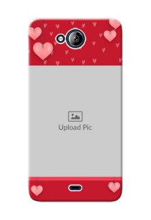 Micromax Canvas Play Q355 valentines day couple Design