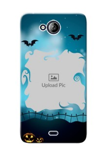 Micromax Canvas Play Q355 halloween design with designer frame Design