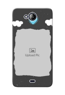 Micromax Canvas Play Q355 splashes backdrop with love doodles Design