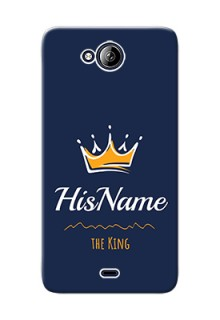 Micromax Canvas Play Q355 King Phone Case with Name