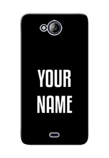 Micromax Canvas Play Q355 Your Name on Phone Case