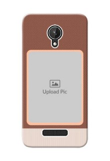 Micromax Canvas Spark Simple Photo Upload Mobile Cover Design