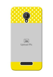 Micromax Canvas Spark Bright Yellow Mobile Case Design