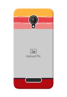 Micromax Canvas Spark Colourful Mobile Case Design