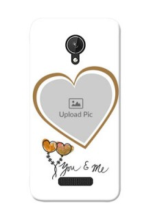 Micromax Canvas Spark You And Me Mobile Back Case Design
