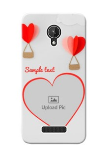Micromax Canvas Spark Love Abstract Mobile Case Design