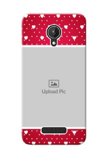 Micromax Canvas Spark Beautiful Hearts Mobile Case Design