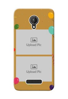 Micromax Canvas Spark 2 image holder with birthday celebrations Design