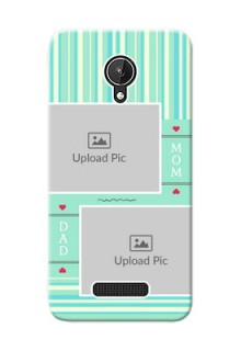 Micromax Canvas Spark mom and dad image holder Design