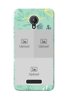 Micromax Canvas Spark family is forever design with floral pattern Design