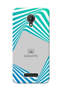 Micromax Canvas Spark abstract spiral Design