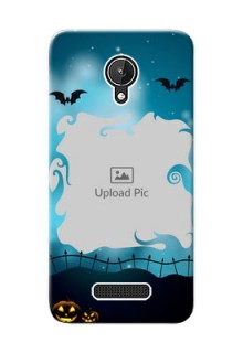 Micromax Canvas Spark halloween design with designer frame Design