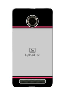 Micromax Yuphoria Photo With Text Mobile Case Design