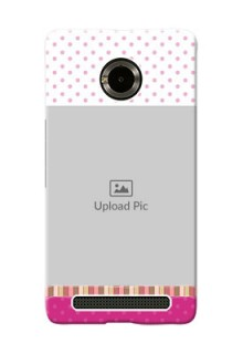Micromax Yuphoria Cute Mobile Case Design