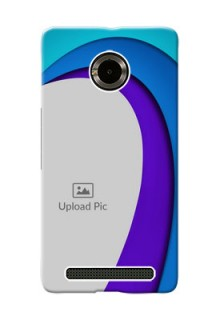 Micromax Yuphoria Simple Pattern Mobile Case Design