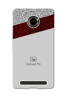 Micromax Yuphoria 2 image holder with glitter strip Design