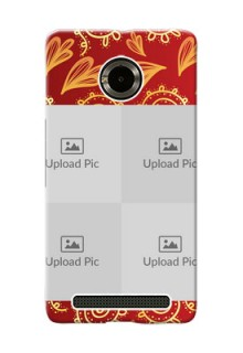 Micromax Yuphoria 4 image holder with mandala traditional background Design