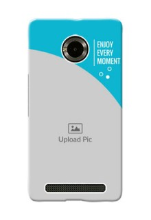 Micromax Yuphoria enjoy every moment Design