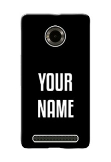Micromax Yuphoria Your Name on Phone Case