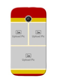 Motorola E Multiple Picture Upload Mobile Cover Design