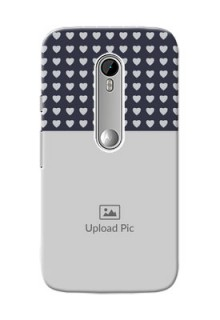 Motorola G Turbo Love Symbols Mobile Cover Design