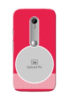 Motorola G Turbo Pink Design Pattern Mobile Case Design