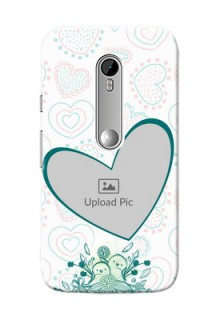 Motorola G Turbo Couples Picture Upload Mobile Case Design
