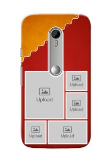 Motorola G Turbo Multiple Pictures Upload Mobile Case Design