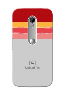 Motorola G Turbo Colourful Mobile Case Design