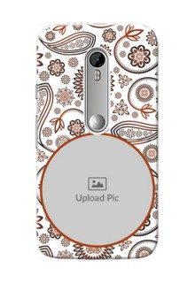 Motorola G Turbo Floral Abstract Mobile Case Design