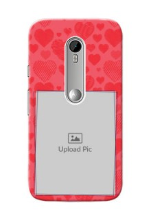 Motorola G Turbo multiple hearts symbols design Design Design
