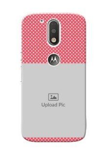 Motorola G4 White Dots Mobile Case  Design